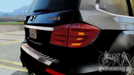 Brabus B63S для GTA San Andreas салон