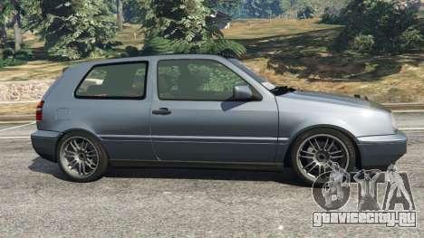 Volkswagen Golf Mk3 VR6 1998 Highline DTD v1.0a для GTA 5