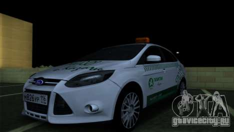 Ford Focus Такси Татарстан для GTA San Andreas