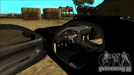 Mazda RX-7 Rusty Rebel для GTA San Andreas вид снизу