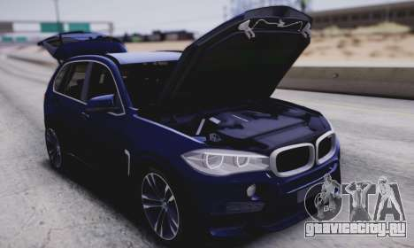 BMW X5M для GTA San Andreas вид сзади