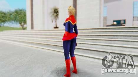Marvel Future Fight - Captain Marvel для GTA San Andreas третий скриншот