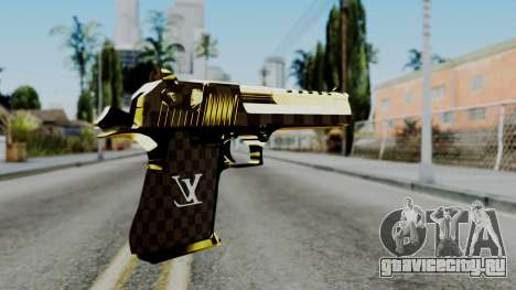 Deagle Louis Vuitton Version для GTA San Andreas второй скриншот
