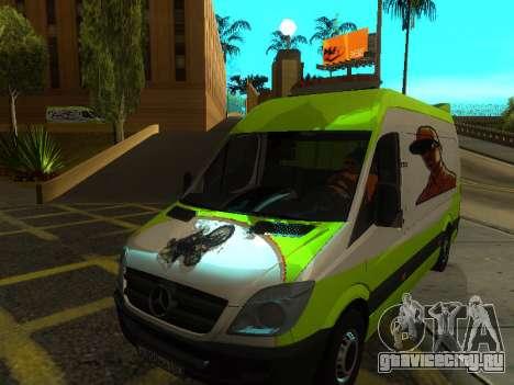 Mercedes-Benz Sprinter для GTA San Andreas