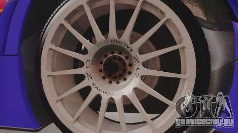 Audi A4 2008 DTM для GTA San Andreas вид сзади