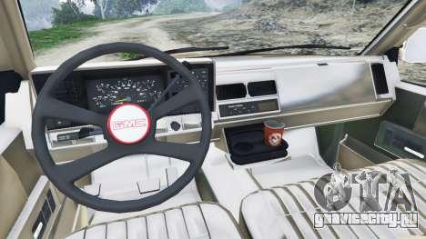 GMC Sierra 2500 Extended Cab 1992 [Beta] для GTA 5