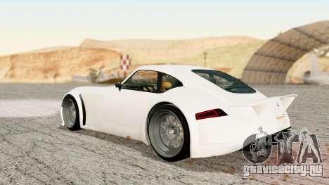 GTA 5 Bravado Verlierer Stock для GTA San Andreas вид слева