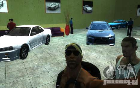 Оживление автосалона Ottos autos для GTA San Andreas четвёртый скриншот