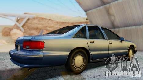 Chevrolet Caprice 1993 для GTA San Andreas вид справа