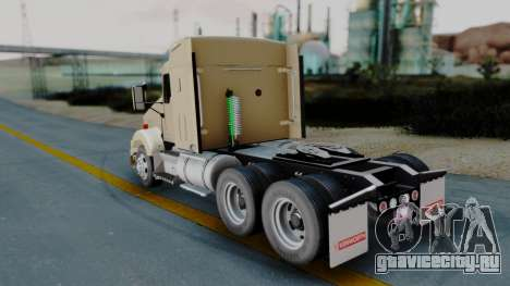 Kenworth T800 38s Flat Top для GTA San Andreas вид слева