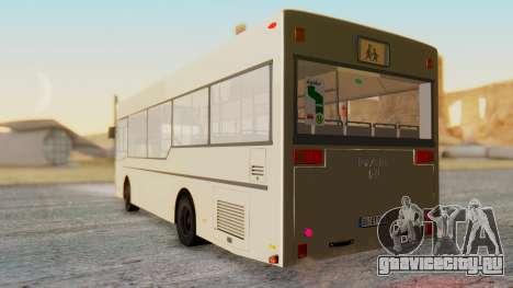 MAN NM 222 для GTA San Andreas вид сзади слева