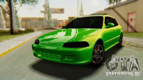Honda Civic Vti 1994 V1.0 для GTA San Andreas