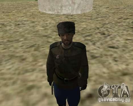 Сборник Солдат РККА для GTA San Andreas четвёртый скриншот