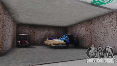 New Garage in San Fierro для GTA San Andreas