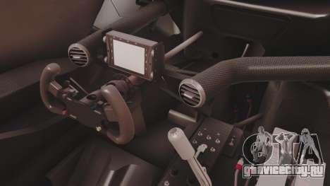 Audi A4 2008 DTM для GTA San Andreas вид изнутри