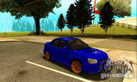 Subaru Impreza WRX STI Spec-C для GTA San Andreas