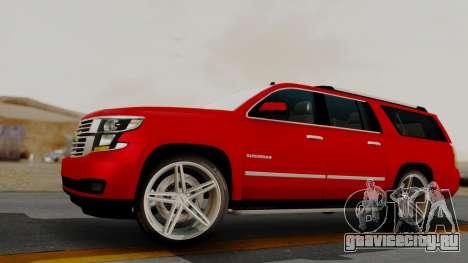 Chevrolet Suburban 2015 LTZ для GTA San Andreas