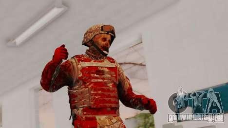 Zombie Military Skin для GTA San Andreas