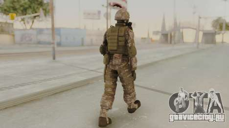 US Army Urban Soldier Gas Mask from Alpha Protoc для GTA San Andreas третий скриншот