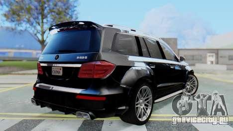 Brabus B63S для GTA San Andreas вид слева