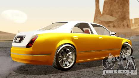 GTA 5 Enus Cognoscenti 55 для GTA San Andreas вид слева