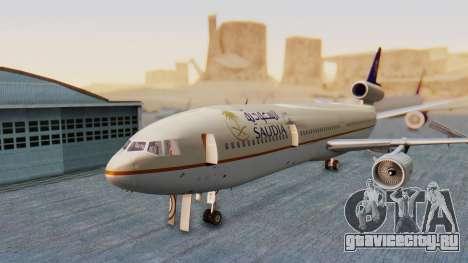 McDonnell-Douglas DC-10-30 Saudia для GTA San Andreas