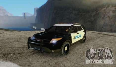 Ford Explorer Police для GTA San Andreas