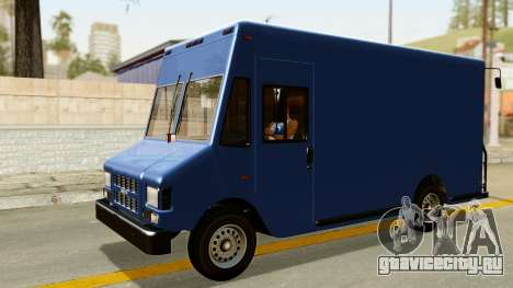 Boxville from GTA 5 для GTA San Andreas вид справа