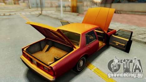 Chevrolet Impala 1984 для GTA San Andreas вид сбоку