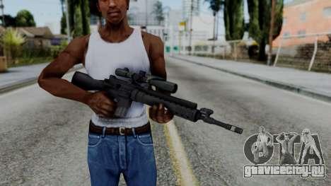 Arma AA MK12 SPR для GTA San Andreas третий скриншот