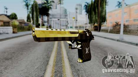 Deagle Louis Vuitton Version для GTA San Andreas