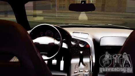 Mazda RX-7 Itasha для GTA San Andreas вид справа