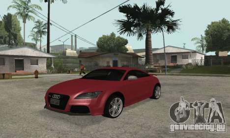 Audi TT-RS Tunable для GTA San Andreas