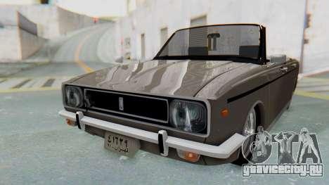 Peykan 80 Spyder для GTA San Andreas вид справа