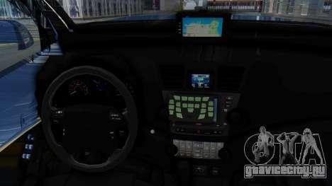 Toyota Fortuner TRD Sportivo Vossen для GTA San Andreas вид сзади