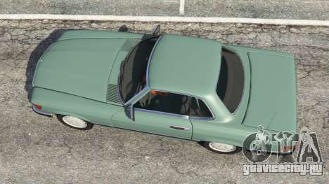 Mercedes-Benz 350 SL (R107) для GTA 5 вид сзади