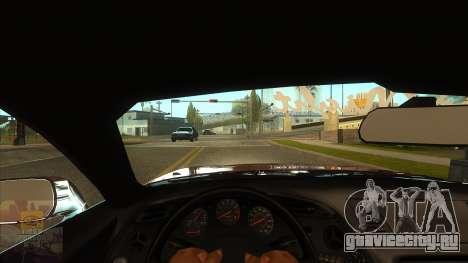 Вид от первого лица v3.0 для GTA San Andreas второй скриншот