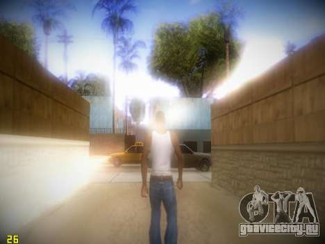 ENB Following V1.4 для слабых ПК для GTA San Andreas