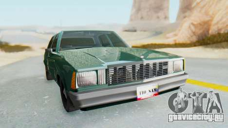 Chevrolet Malibu 1981 Twin Turbo для GTA San Andreas вид справа