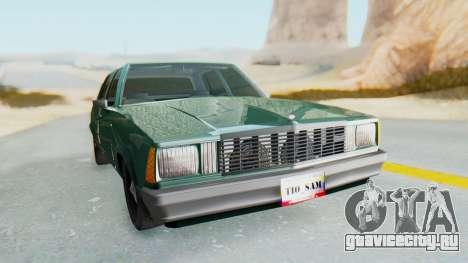 Chevrolet Malibu 1981 Twin Turbo для GTA San Andreas вид справа