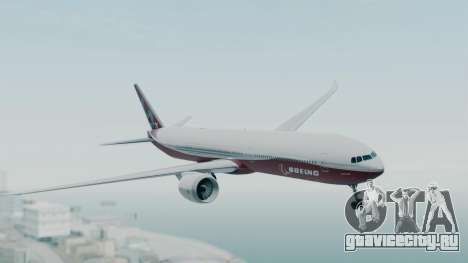 Boeing 777-9x House для GTA San Andreas вид сзади слева