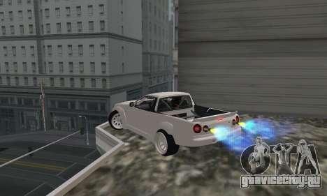 Nissan Skyline R34 Pickup для GTA San Andreas вид слева