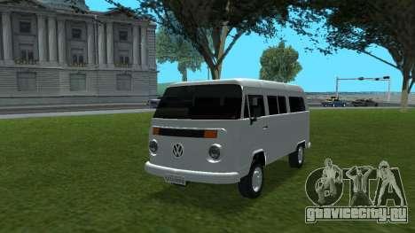 Volkswagen Kombi 2004 для GTA San Andreas
