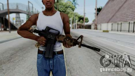 M16 A2 Carbine M727 v2 для GTA San Andreas третий скриншот
