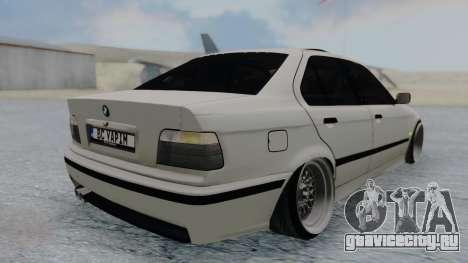 BMW 3-er E36 для GTA San Andreas вид слева