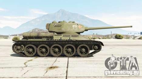 Т-34-85 для GTA 5 вид слева