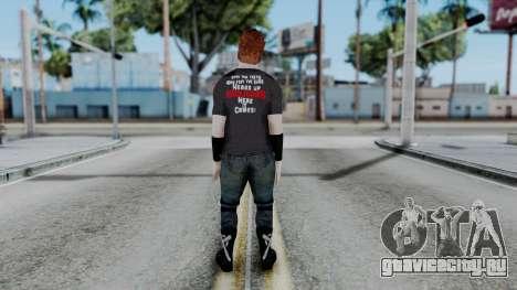 Sheamus Casual для GTA San Andreas третий скриншот