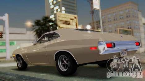 Ford Gran Torino Sport SportsRoof (63R) 1972 PJ2 для GTA San Andreas вид слева