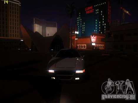 ENB Following V1.0 для средних ПК для GTA San Andreas четвёртый скриншот
