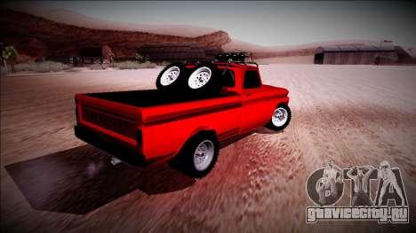 Chevrolet C10 Rusty Rebel для GTA San Andreas вид справа